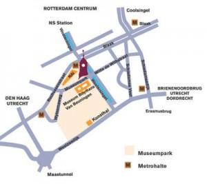 Remonstranten Rotterdam route Museumpark 3