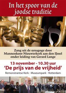 Mannenkoor Nieuwerkerk aan den IJssel op 13 november 2016 in Arminiuskerk