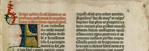 Introductie in de Gutenbergbijbel door de vertaler Hiëronymus van Stridon in het Latijn